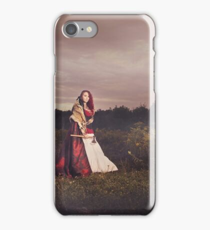 Dark Side of Little Red Riding Hood iPhone Case/Skin