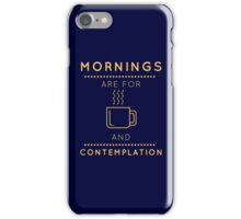 "Stranger Things: ""Coffee & Contemplation"" iPhone Case/Skin"