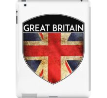 GREAT BRITAIN UNITED KINGDOM ENGLAND FLAG CREST  iPad Case/Skin