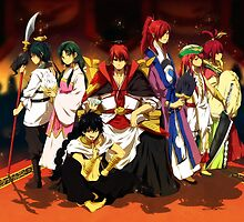 Magi - Kou Empire by banafria