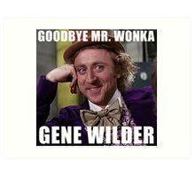 gene wilder Art Print