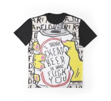 fidlar beer can Graphic T-Shirt