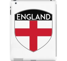 ENGLAND GREAT BRITAIN UNITED KINGDOM FLAG CREST iPad Case/Skin