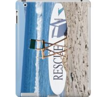 Lifeguard Surfboard Rescue Station  iPad Case/Skin