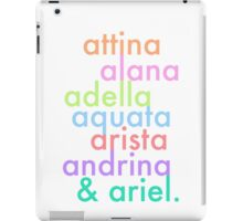 daughters of triton iPad Case/Skin