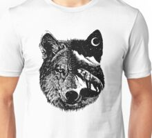 Night wolf Unisex T-Shirt