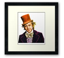 gene wilder Framed Print