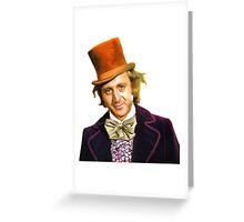 gene wilder Greeting Card