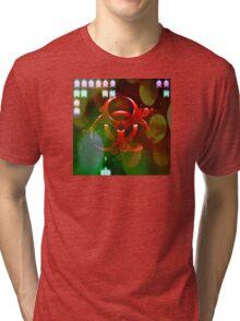 Biohazard - Space Invaders Tri-blend T-Shirt
