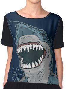 T-shirt Shark  Chiffon Top