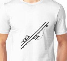 Dos caras de una persona Unisex T-Shirt