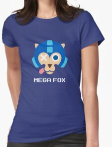 Mega Fox Womens Fitted T-Shirt