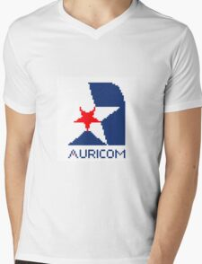 Auricom - Wipeout Mens V-Neck T-Shirt