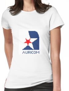 Auricom - Wipeout Womens Fitted T-Shirt