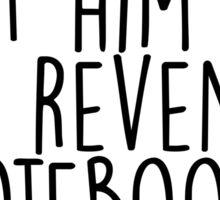 Gilmore Girls - Revenge Notebook Sticker