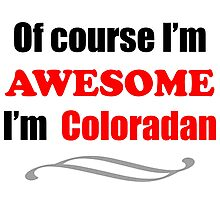 Colorado Is Awesome Photographic Print