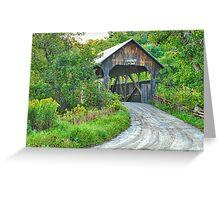 Coburn Covered Bridge Greeting Card