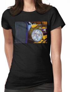 Hot Rod Show Car Light Womens Fitted T-Shirt