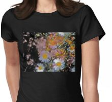 Abstract 116 Womens Fitted T-Shirt