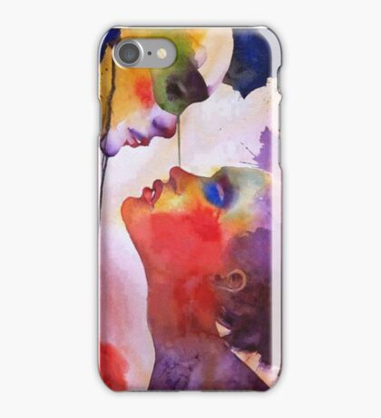 love with colour iPhone Case/Skin