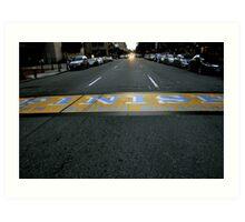 Boston Marathon Finish Line Art Print