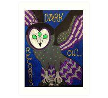 Dark Owl Records Art Print