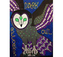 Dark Owl Records Photographic Print