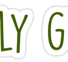 Holy guac Sticker
