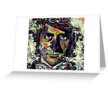 Willy Wonka - Gene Wilder Greeting Card