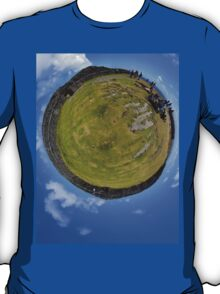 Fortified Ball - Inside Dun Aengus stone fort T-Shirt
