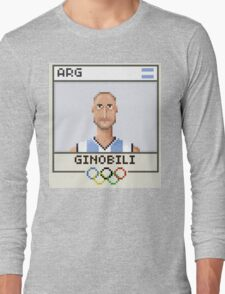 Manu Ginobili Long Sleeve T-Shirt