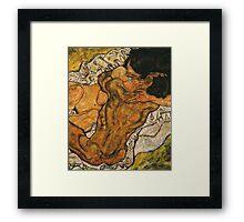 The Hug (1917) {SAD ART} Framed Print