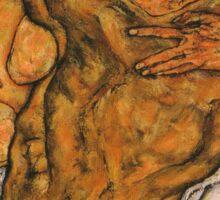 The Hug (1917) {SAD ART} Sticker