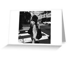 Black & White, Washington DC Greeting Card