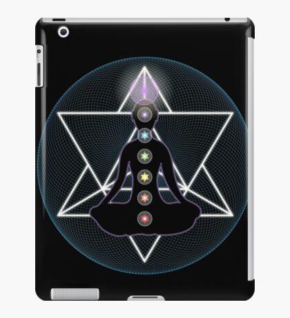 Meditate Yoga Chakras iPad Case/Skin