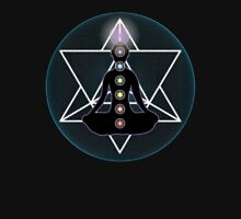 Meditate Yoga Chakras Unisex T-Shirt