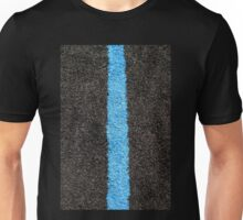 Black Blue Lawn Unisex T-Shirt