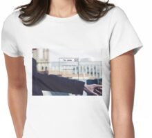 Unsent Womens Fitted T-Shirt