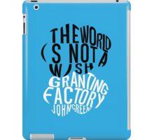 TFIOS - Wish Granting Factory iPad Case/Skin