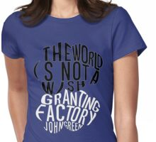 TFIOS - Wish Granting Factory Womens Fitted T-Shirt