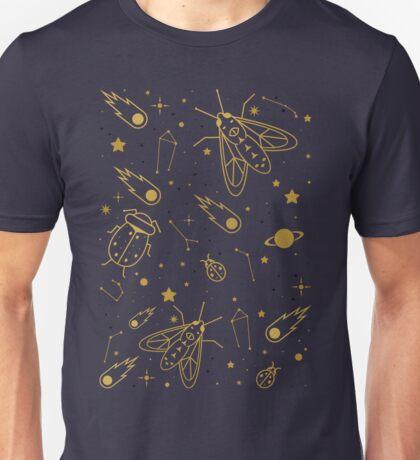 Golden Celestial Bugs  T-Shirt