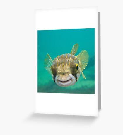 Globe Fish Greeting Card