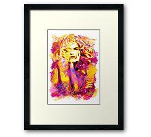 Pamela Anderson Framed Print