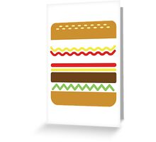 eat and die Greeting Card