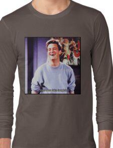 nervous fake laughter Long Sleeve T-Shirt