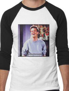 nervous fake laughter Men's Baseball ¾ T-Shirt