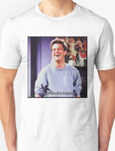 nervous fake laughter Unisex T-Shirt
