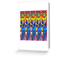 Painted Lady of the Vieux Carre Greeting Card