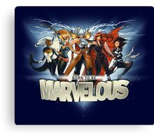 Born to be Marvelous Canvas Print