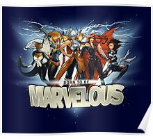 Born to be Marvelous Poster